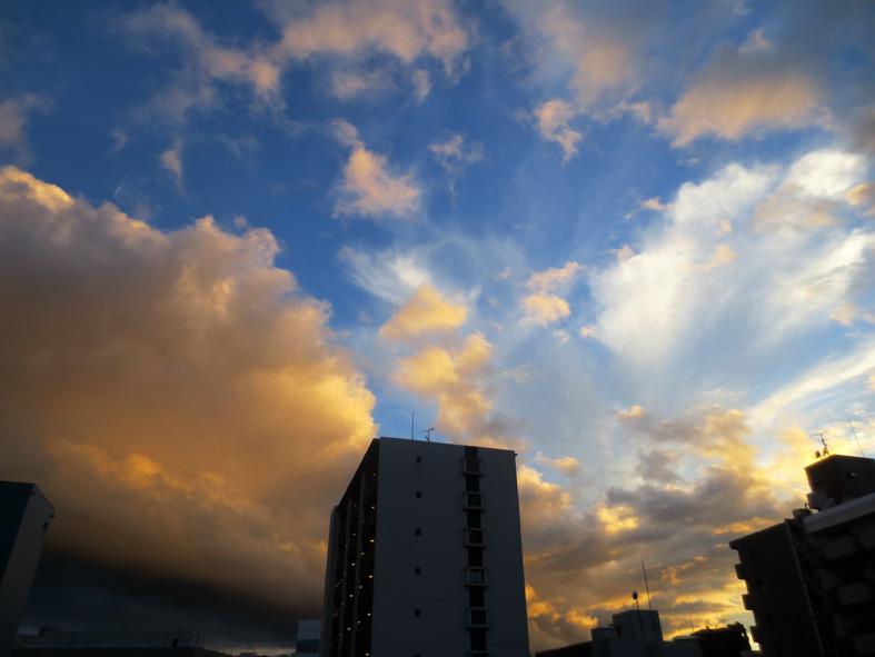 ■明けるかどうか分からぬ梅雨の空、そしてこの国の暗雲…──週替わりの夕暮れ[7/14・16・19]_d0190217_23554388.jpg