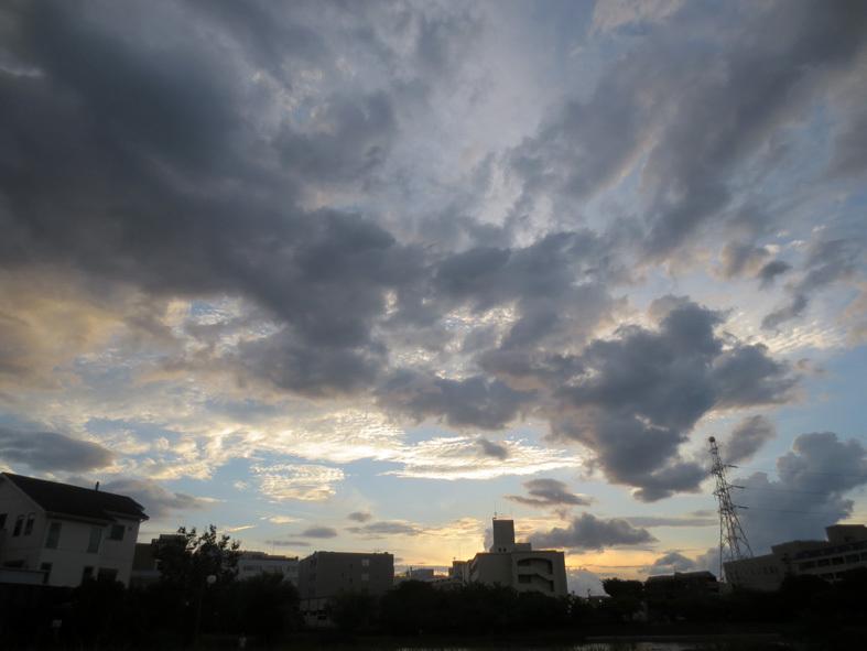■明けるかどうか分からぬ梅雨の空、そしてこの国の暗雲…──週替わりの夕暮れ[7/14・16・19]_d0190217_23575961.jpg