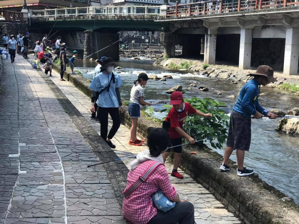 「春来川で遊ぼう」企画が湯村温泉でスタート_f0112434_17510641.jpg