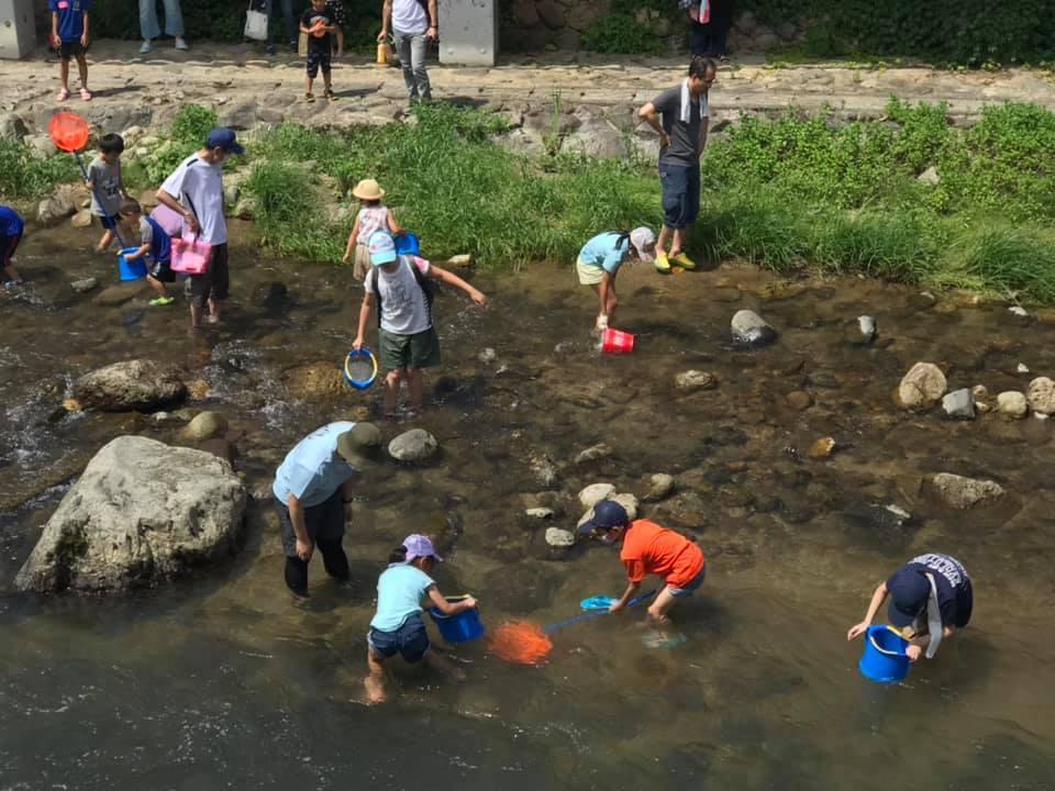 「春来川で遊ぼう」企画が湯村温泉でスタート_f0112434_17512613.jpg