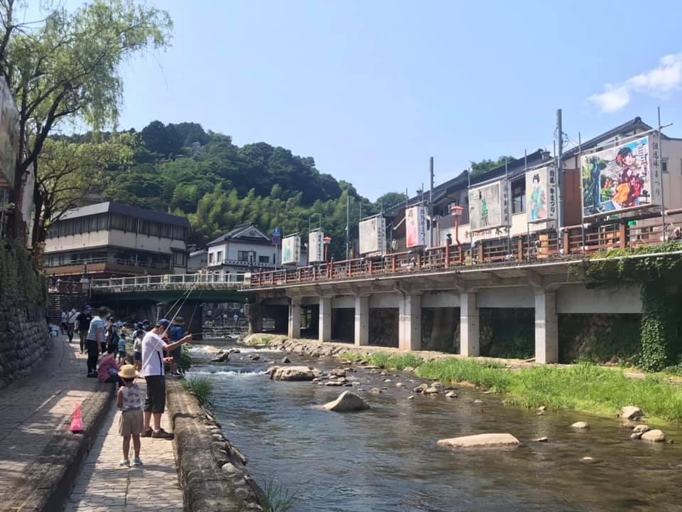 「春来川で遊ぼう」企画が湯村温泉でスタート_f0112434_17521444.jpg