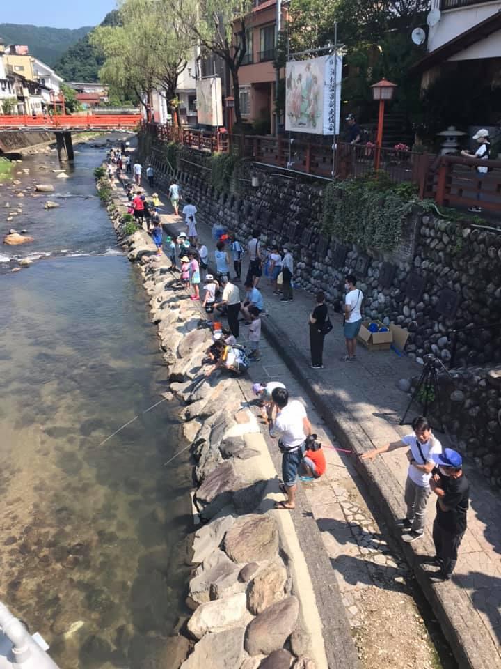 「春来川で遊ぼう」企画が湯村温泉でスタート_f0112434_17523124.jpg