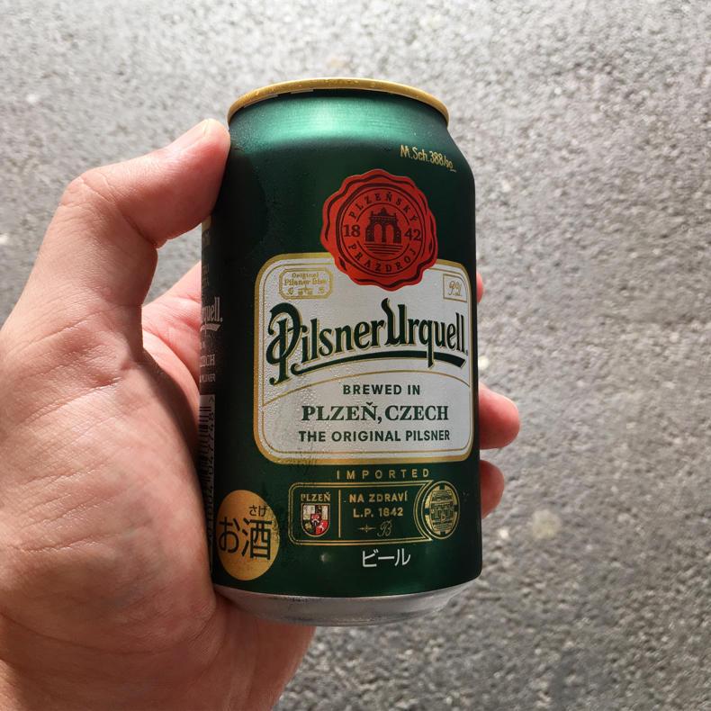 今日はいっぱい歩いたぞ!ビールが美味い_c0060143_17024426.jpg