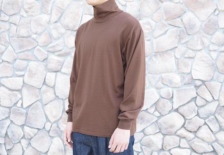 AURALEE -LUSTER PLATING HI-NECK LONG SLEEVE TEE-_b0163746_17341266.jpg