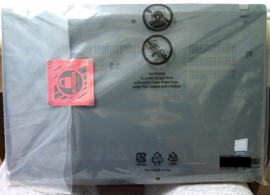 新しいノートパソコン の ThinkPad T14 Gen1 (AMD) を開封する。_b0003577_13295701.jpg