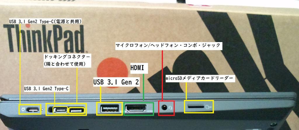 新しいノートパソコン の ThinkPad T14 Gen1 (AMD) を開封する。_b0003577_14195439.jpg