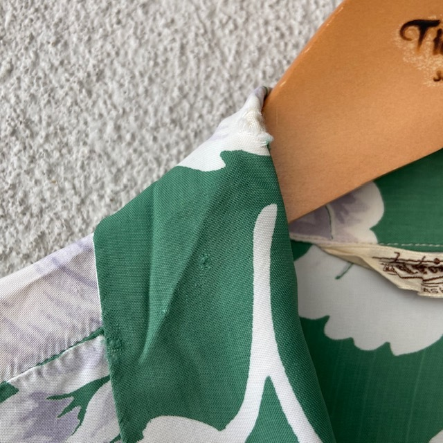1950\'s L/S Rayon Hawaiian Shirt_c0146178_12112706.jpg
