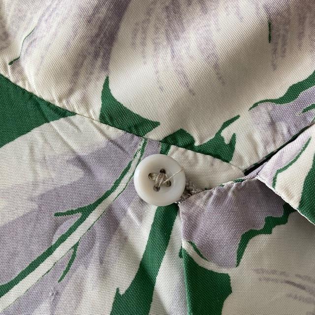 1950\'s L/S Rayon Hawaiian Shirt_c0146178_12113553.jpg