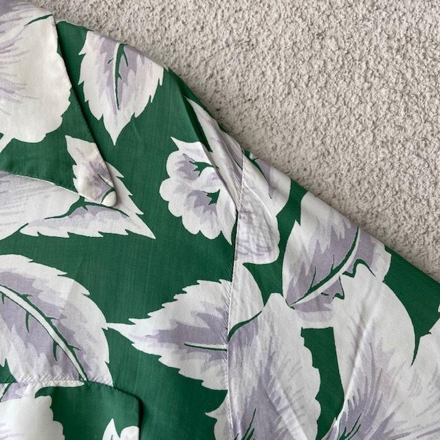 1950\'s L/S Rayon Hawaiian Shirt_c0146178_12114827.jpg