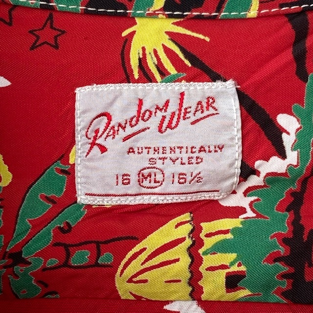 1950\'s L/S Rayon Hawaiian Shirt_c0146178_12143050.jpg