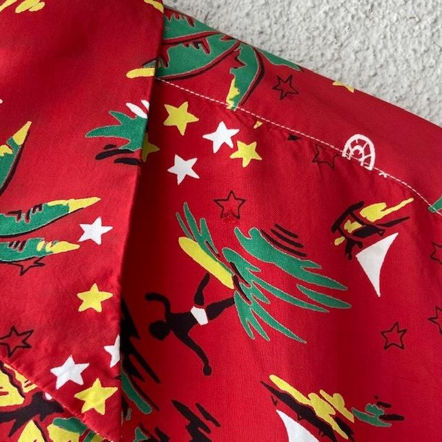 1950\'s L/S Rayon Hawaiian Shirt_c0146178_12150256.jpg