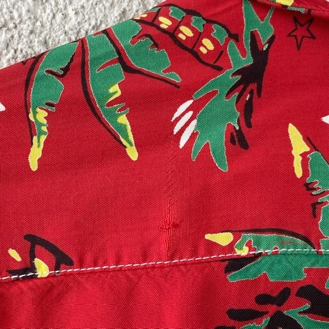 1950\'s L/S Rayon Hawaiian Shirt_c0146178_12161815.jpg
