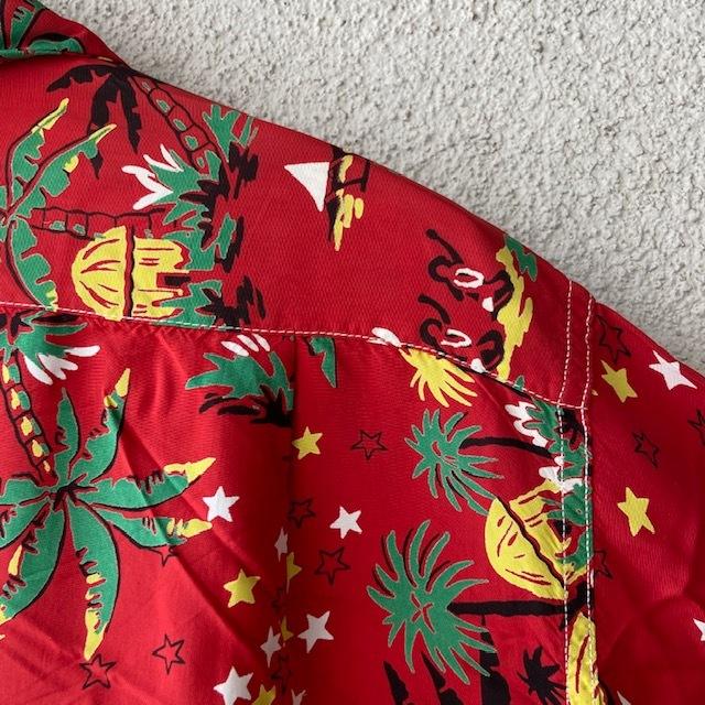 1950\'s L/S Rayon Hawaiian Shirt_c0146178_12162883.jpg