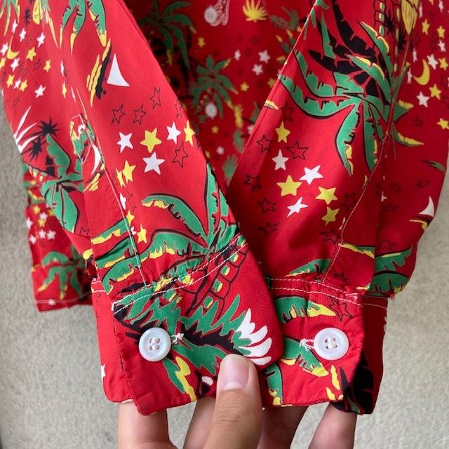 1950\'s L/S Rayon Hawaiian Shirt_c0146178_12170728.jpg