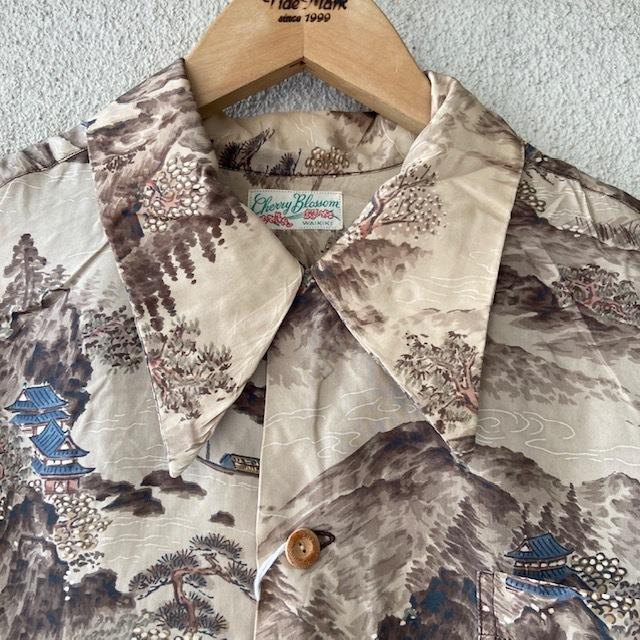 1950\'s L/S Rayon Hawaiian Shirt_c0146178_12214664.jpg