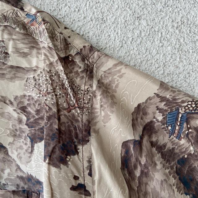 1950\'s L/S Rayon Hawaiian Shirt_c0146178_12221006.jpg