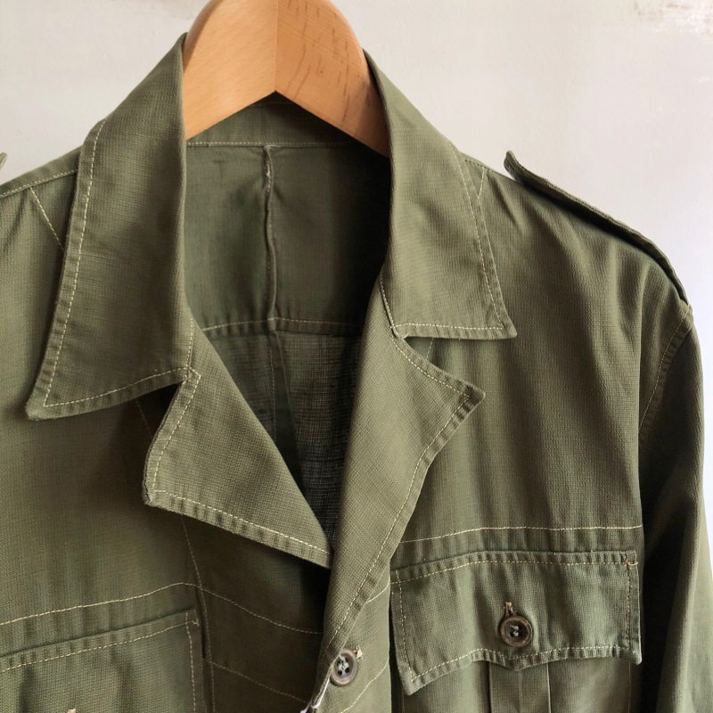 British Army Bush Jacket/ French Military Bourgeron Trousers_f0370108_13181557.jpg