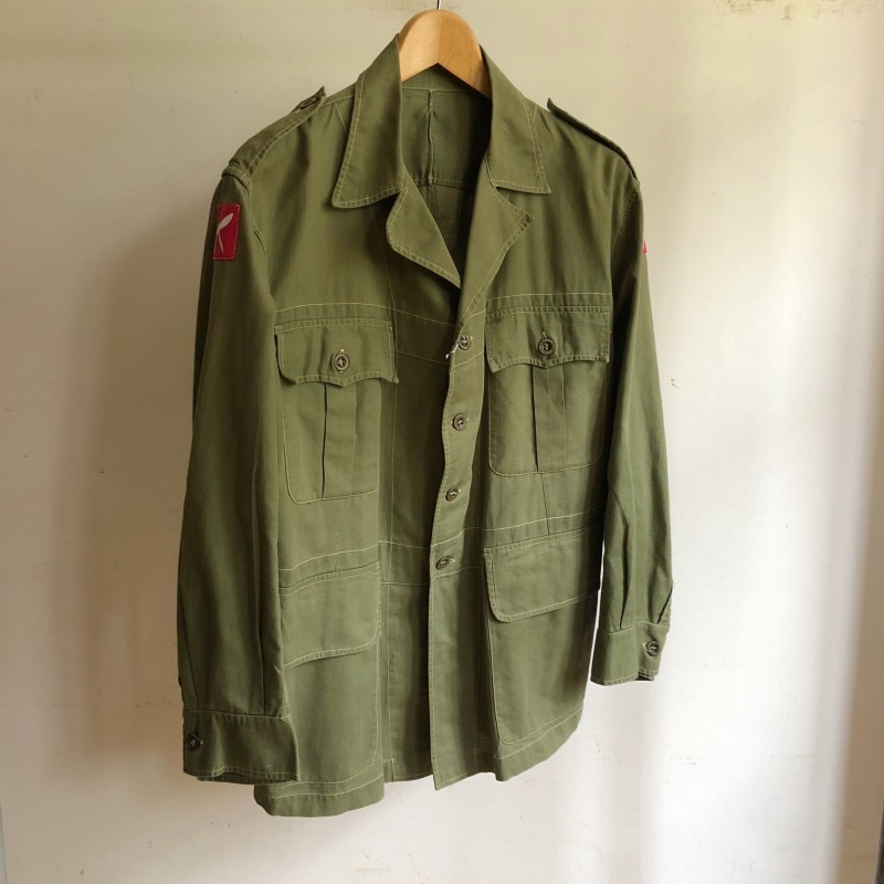 British Army Bush Jacket/ French Military Bourgeron Trousers_f0370108_13181891.jpg