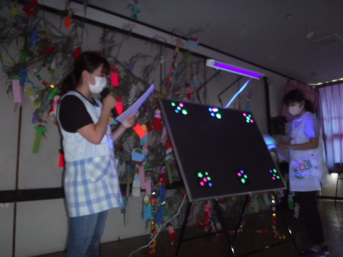 七夕パーティーを行いました_f0227821_11053621.jpg