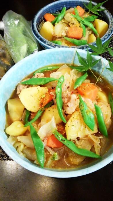 ■菜園野菜で【肉じゃがレシピ】_b0033423_23275707.jpg