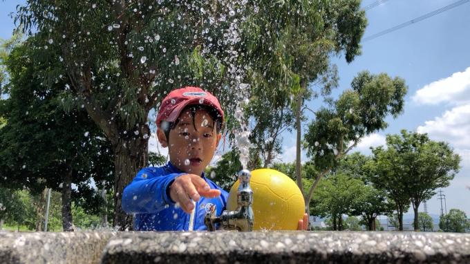 水着と公園_c0113733_00374816.jpg