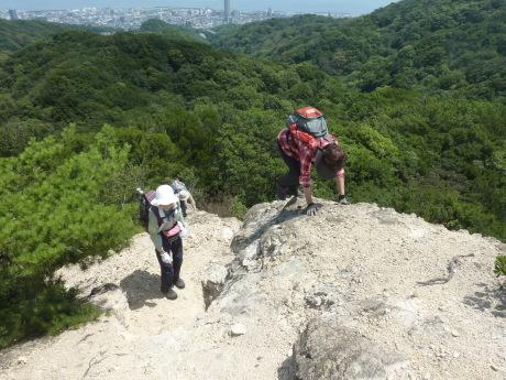 須磨アルプス新バリエーションルート 横尾山から天皇池を経て東山_c0218841_14341407.jpg