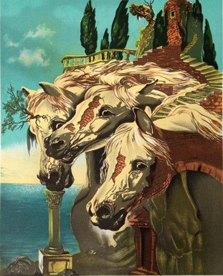 ダリの馬の関連 1 (JZ)_c0058954_00155535.jpg