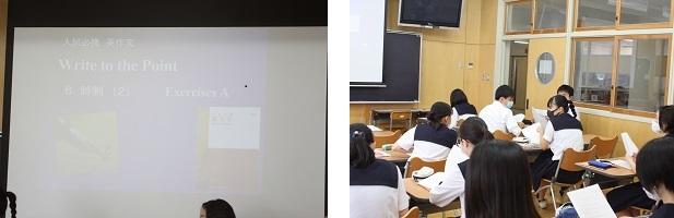 市立浦和高校の少人数授業を紹介します。(今回は高入生2年、理系の英語表現Ⅱです)_e0313769_13040177.jpg