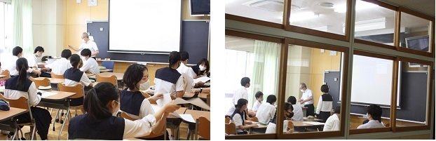 市立浦和高校の少人数授業を紹介します。(今回は高入生2年、理系の英語表現Ⅱです)_e0313769_13124765.jpg