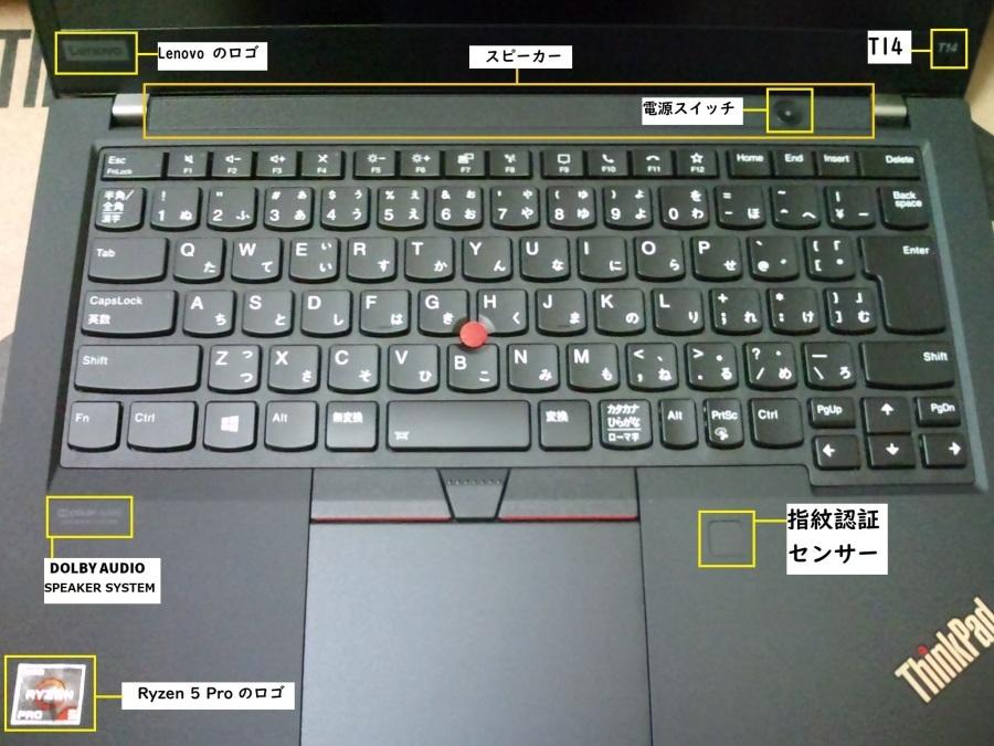 新しいノートパソコン の ThinkPad T14 Gen1 (AMD) を開封する。_b0003577_10003519.jpg