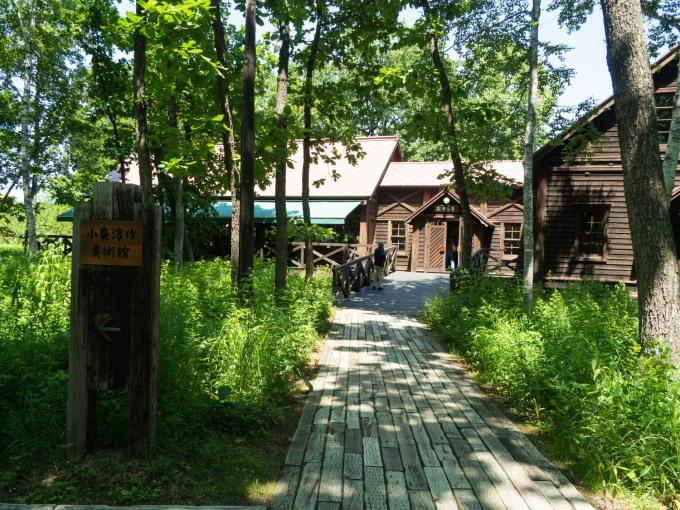 やっと夏日の中札内村、待望のオープン「中札内美術村」_f0276498_22335391.jpg