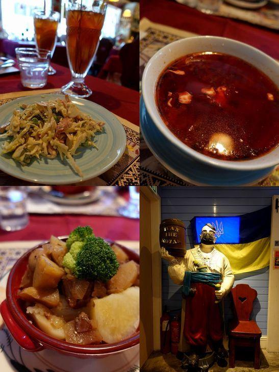 赤くて可愛いウクライナ料理店_e0368107_18594026.jpg