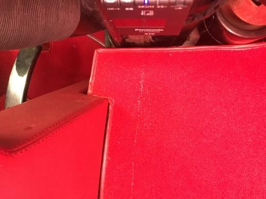 助手席の足元に水漏れ?_a0129711_09254415.jpg