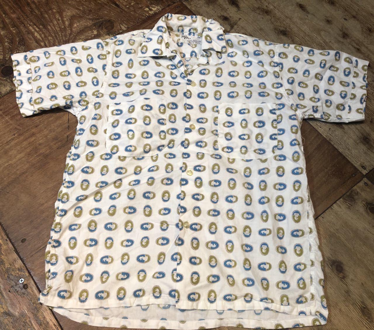 7月23日(木)入荷!50s TOWN TOPIC タウントピック  ボックスシルエット オープンカラーシャツ!_c0144020_16365951.jpg