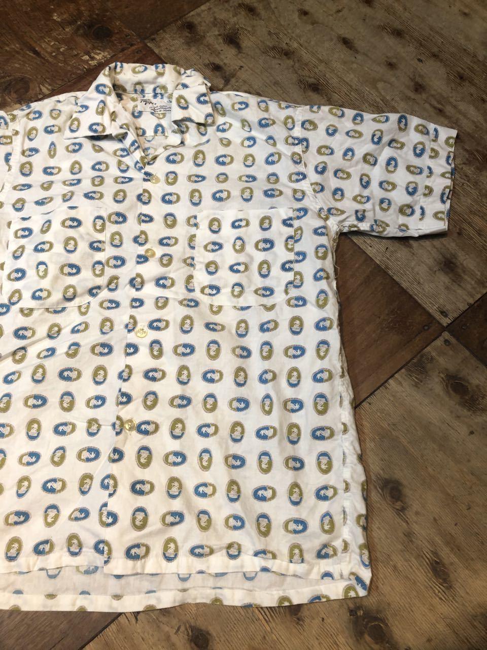 7月23日(木)入荷!50s TOWN TOPIC タウントピック  ボックスシルエット オープンカラーシャツ!_c0144020_16370546.jpg