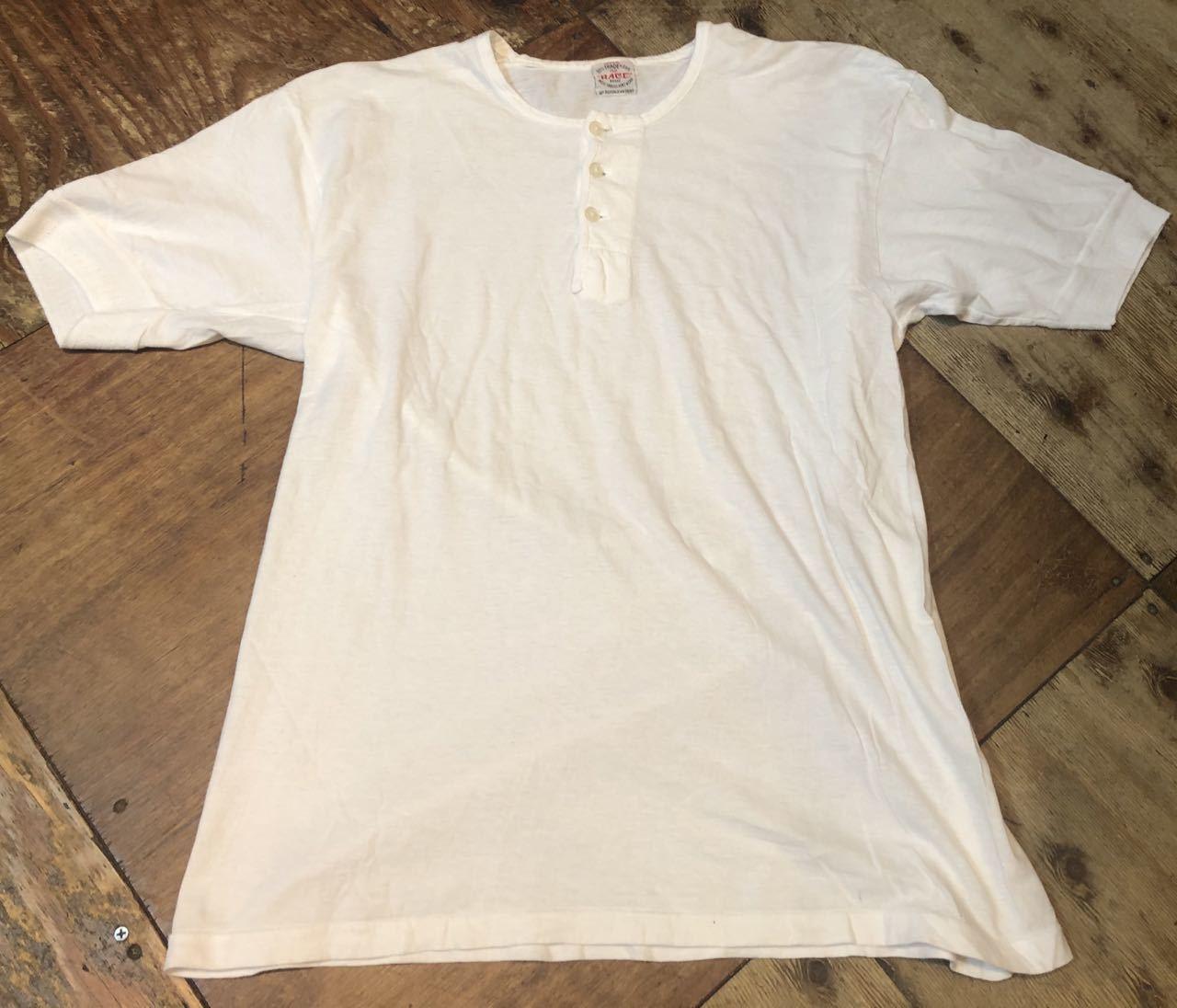 7月23日(木)入荷!50s〜all cotton ヘンリーネック シャツ!_c0144020_16392179.jpg