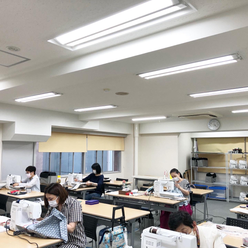 【ヴォーグ学園横浜校】生徒さんの大人バッグ紹介です♪_f0023333_21192528.jpg