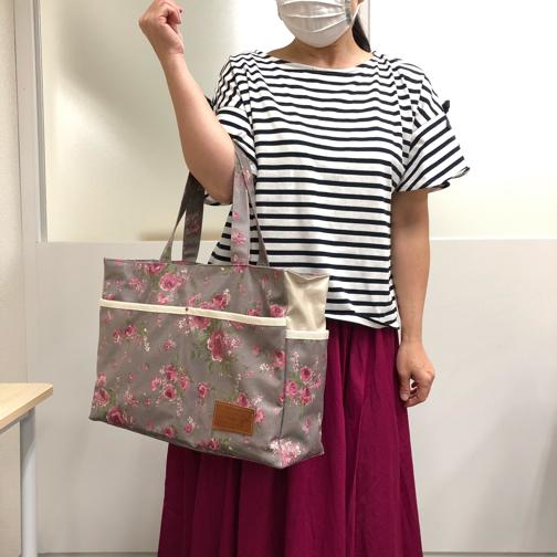 【ヴォーグ学園横浜校】生徒さんの大人バッグ紹介です♪_f0023333_21264606.jpg