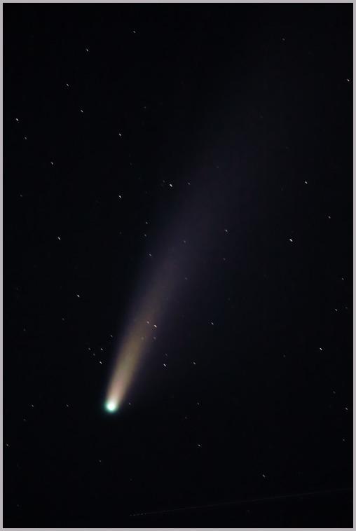 ネオワイズ彗星②_a0123239_09323524.jpg