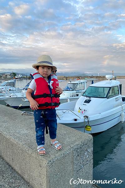 プチモンスターの海釣り夏休み_c0024345_11313476.jpg