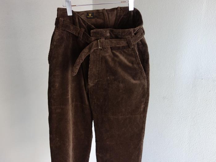 9月の製作 / tanker work corduroy pants / 別注品_e0130546_15383243.jpg