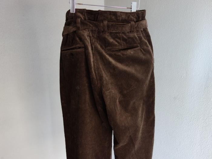 9月の製作 / tanker work corduroy pants / 別注品_e0130546_15385088.jpg