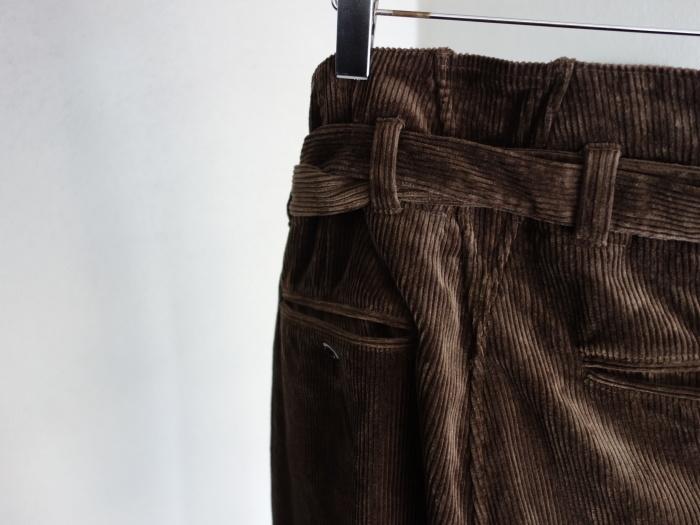 9月の製作 / tanker work corduroy pants / 別注品_e0130546_15405695.jpg