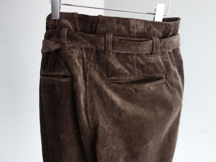 9月の製作 / tanker work corduroy pants / 別注品_e0130546_15451557.jpg