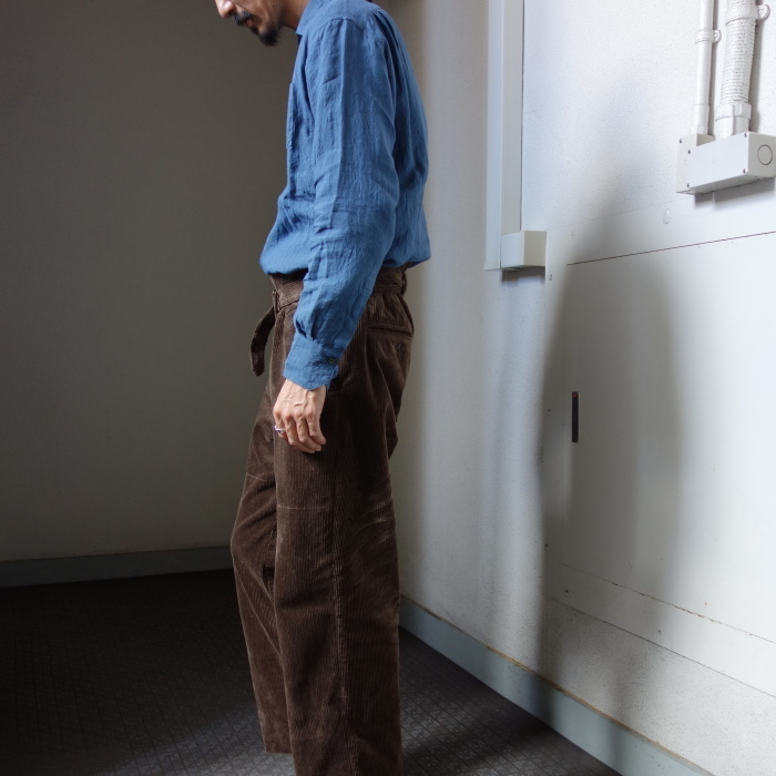 9月の製作 / tanker work corduroy pants / 別注品_e0130546_15545954.jpg