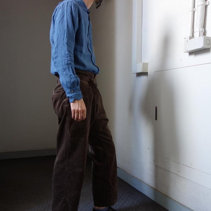 9月の製作 / tanker work corduroy pants / 別注品_e0130546_15551871.jpg