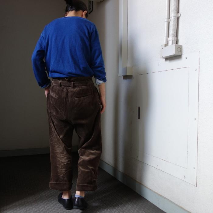 9月の製作 / tanker work corduroy pants / 別注品_e0130546_15562283.jpg