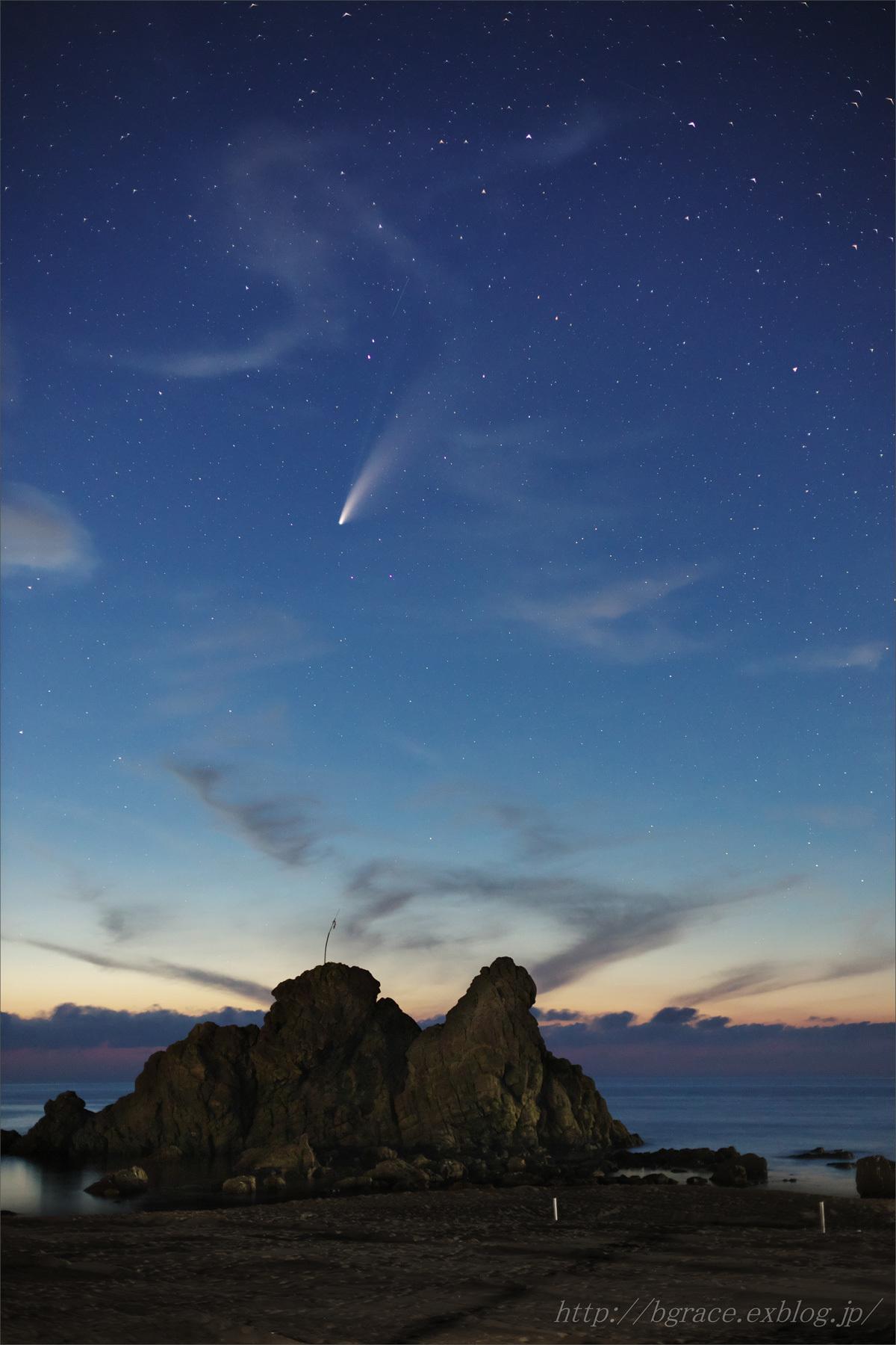 ネオワイズ彗星 (C/2020F3) 7月19日 山形県 Vol.1_b0191074_21345024.jpg