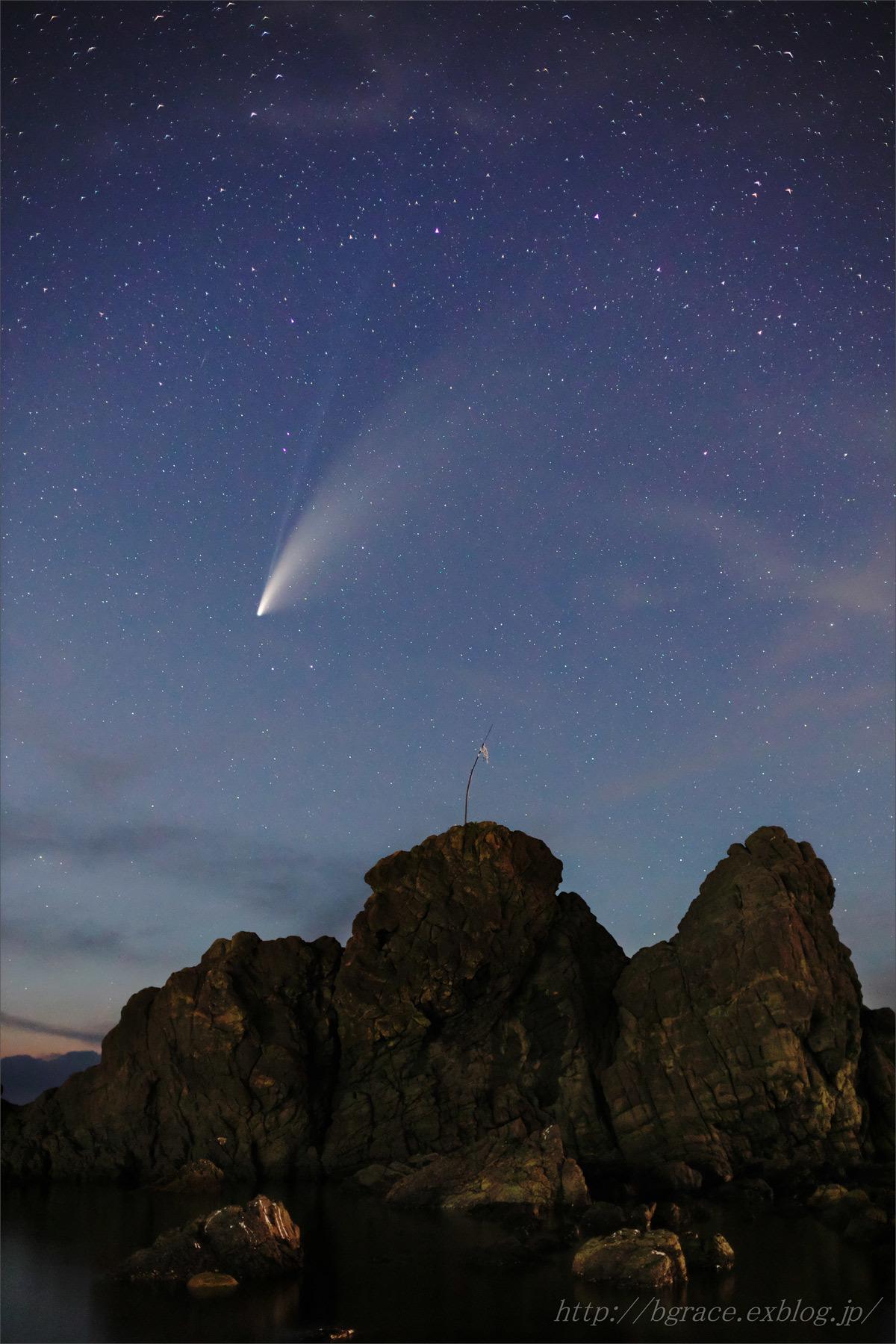 ネオワイズ彗星 (C/2020F3) 7月19日 山形県 Vol.1_b0191074_21350604.jpg
