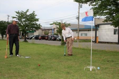 グラウンドゴルフ&ビアパーティが行われました!_f0141477_10530724.jpg